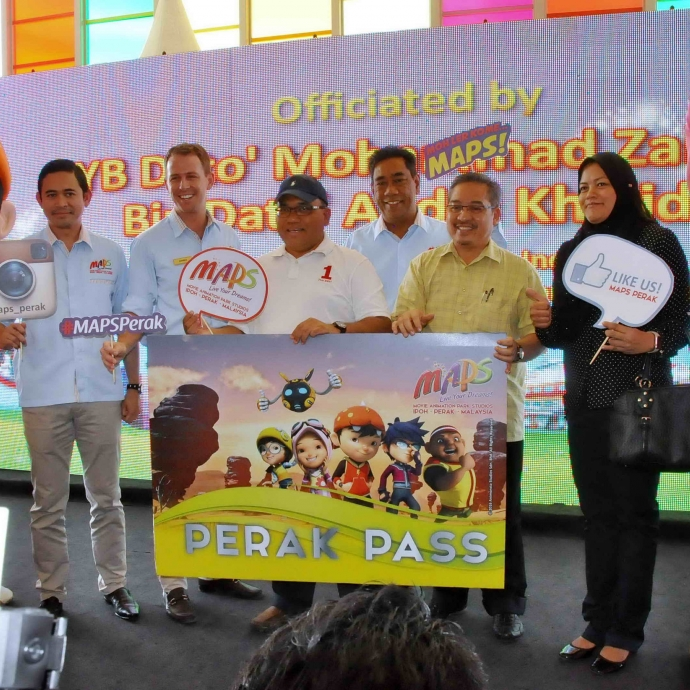 Malaysians One Step Closer To Enjoy Asia's First Animation Theme Park!