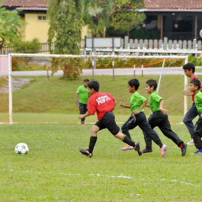 CSR Programme : PKNP FC Football Coaching Clinic in Taiping