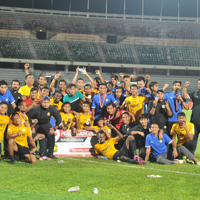 FAM Cup 2017 Second Final: PKNP FC Satisfied Runner Up Place